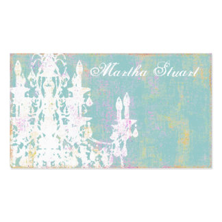 Coco Chandelier ~ CHANGE COLOR Business Cards