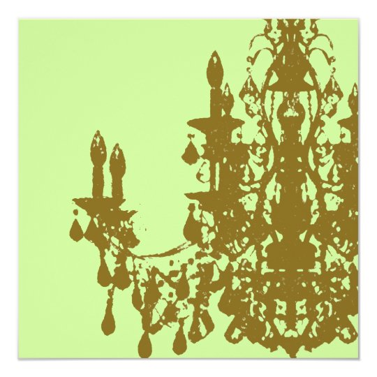 Coco Chandelier ~ Invitations / RSVP