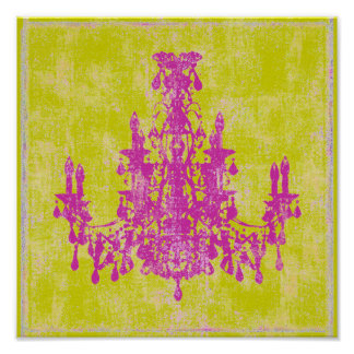 Coco Chandelier ~ Print / Poster