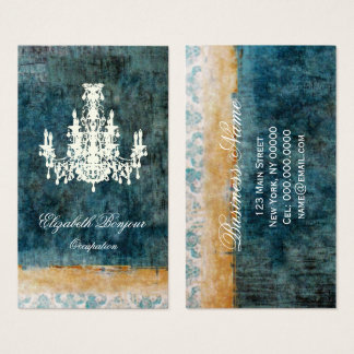 Coco Chandelier - (Size Options) Business Card