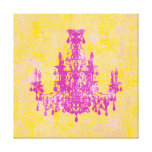 """Coco Chandelier ~ Wrapped Canvas .75"""" Thick"""