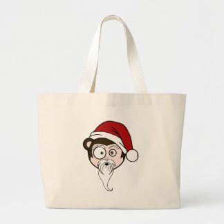 coco clause. large tote bag
