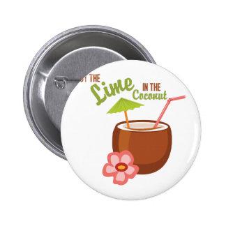 Coco de la cal pin redondo 5 cm