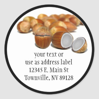 Coco Hazel Nut Sticker