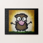 Coco in the Grass Jigsaw Puzzles