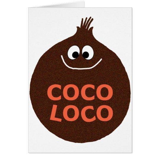 COCO LOCO CARD
