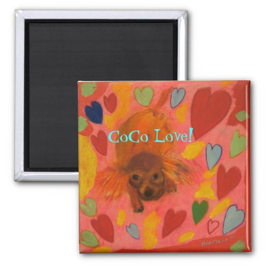 CoCo Love 2 Magnet