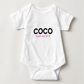 Coco made me do it baby bodysuit