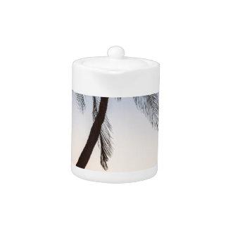 Coco Mo Tropical Sunrise Teapot