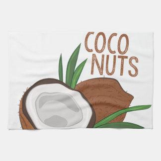 Coco Nuts Kitchen Towel