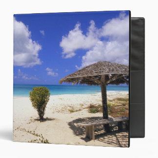 Coco Point Beach, Barbuda, Antigua 3 Ring Binder