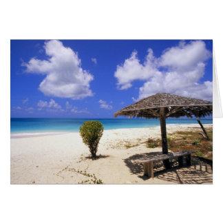 Coco Point Beach, Barbuda, Antigua Greeting Card