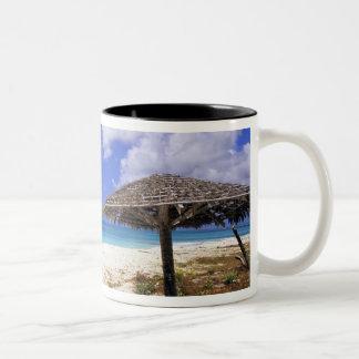 Coco Point Beach, Barbuda, Antigua Two-Tone Coffee Mug