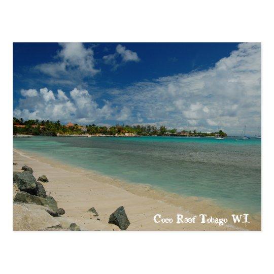 Coco Reef Tobago W.I. Postcard