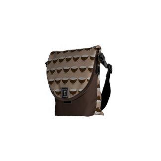 Coco sonriente bolsas de mensajería