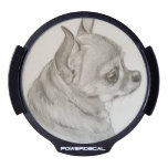 Coco the Chihuahua LED Window Decal