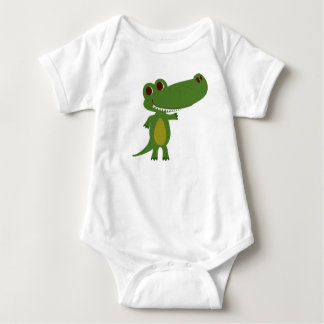 Coco the Crocodile from Fairy Tale Kingdom Baby Bodysuit