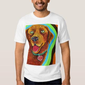 Coco the Happy Lab T Shirts