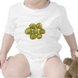 Coco verde rechoncho trajes de bebé