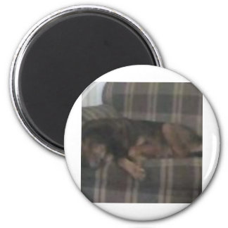 Cocoa 2 Inch Round Magnet