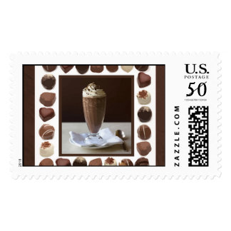 Cocoa and Candy Postage Stamps