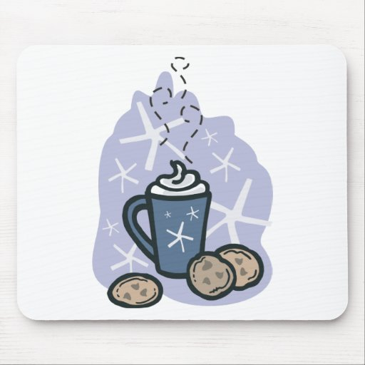 cocoa and cookies mouse pad