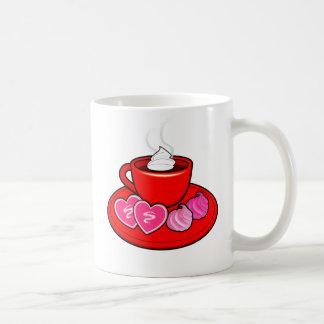 Cocoa and Valentine's Day Cookies Mug