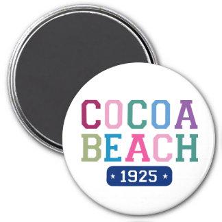 Cocoa Beach 1925 3 Inch Round Magnet