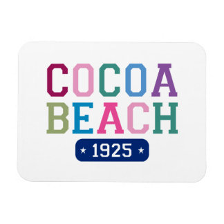 Cocoa Beach 1925 Rectangular Photo Magnet