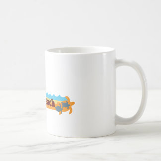 Cocoa Beach - Beach Design. Coffee Mug