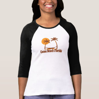 Cocoa Beach - Beach Design. T-Shirt