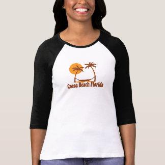 Cocoa Beach - Beach Design. Tee Shirt