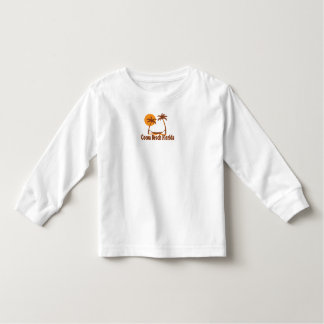 Cocoa Beach - Beach Design. Toddler T-shirt