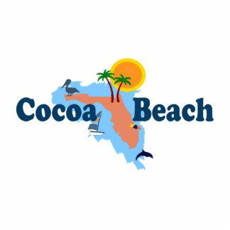 Cocoa Beach. Cutout