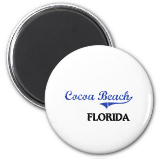 Cocoa Beach Florida City Classic 2 Inch Round Magnet