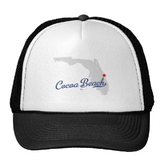 Cocoa Beach Florida FL Shirt Trucker Hat