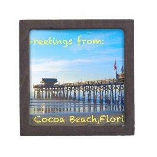 Cocoa Beach Florida Keepsake Box