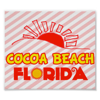 Cocoa Beach, Florida Poster
