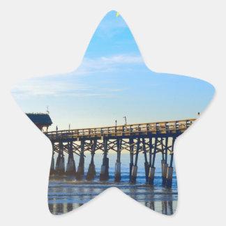 Cocoa Beach Florida Star Sticker