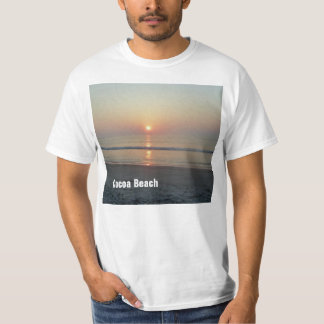 Cocoa Beach Florida Sunset T-Shirt Shirt Photo