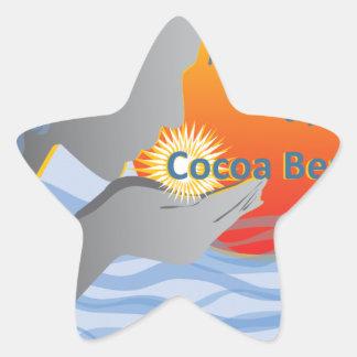 Cocoa Beach Gifts Star Sticker