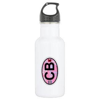 Cocoa Beach - Oval Design. 18oz Water Bottle