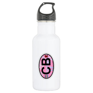Cocoa Beach - Oval Design. Stainless Steel Water Bottle