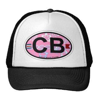 Cocoa Beach - Oval Design. Trucker Hat