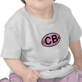 Cocoa Beach - Oval Design. Tshirt