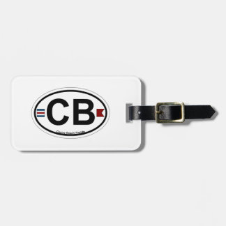 Cocoa Beach - Oval Tag For Bags