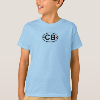 Cocoa Beach - Oval. T-Shirt