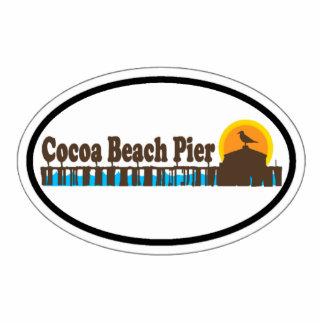 Cocoa Beach. Photo Cutout