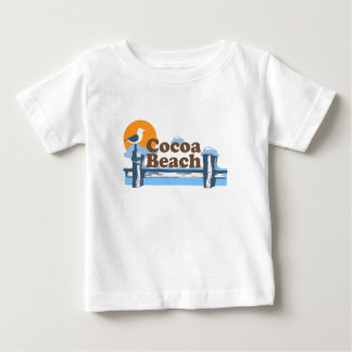 Cocoa Beach - Pier Design. Baby T-Shirt