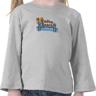Cocoa Beach - Pier Design. Tshirt